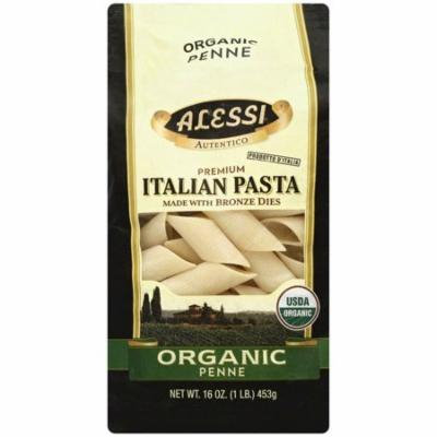 Alessi Organic Penne Pasta, 16 oz, (Pack of 12)