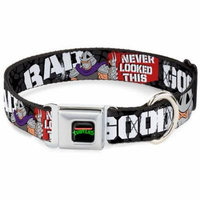 Dog Collar NTA-Classic TEENAGE MUTANT NINJA TURTLES Logo - Shredder Poses Pet Collar