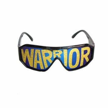 Macho Wrestler Warrior Black Shield Sunglasses Macho Man Randy Savage Costume