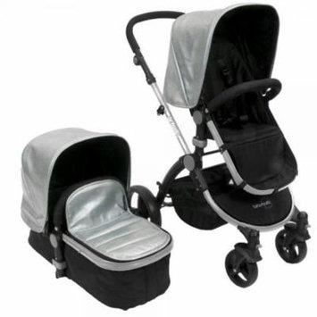Babyroues Letour Lux Il Classique Stroller, Classico Silver