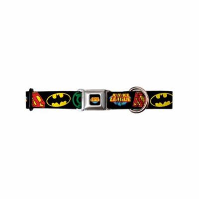 Justice League DC Comics Superheroes League Logos Seatbelt Pet Collar