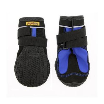 Muttluks Snow Mushers Dog Boots - Blue with Black Trim Size 2