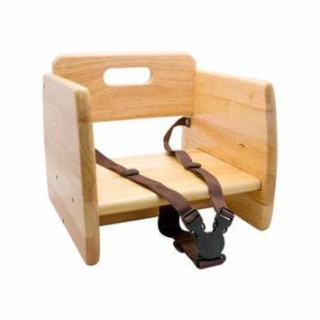 GET Enterprises - BS-200-N - Natural Wood Booster Seat