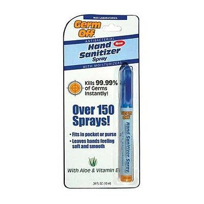 Max Professional HSP-003-210 Germ Off Hand Sanitizer Pen 34 Fl. Oz. *d