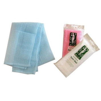 3 Touch Me Exfoliating Spa Bath Nylon Towel Beauty Skin Washcloth (Set of 3)