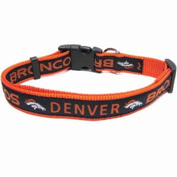 Denver Broncos NFL Dog Collar - Large