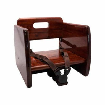 GET Enterprises - BS-200-M - Mahogany Wood Booster Seat