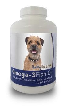 Healthy Breeds 840235141037 Border Terrier Omega-3 Fish Oil Softgels 180 Count