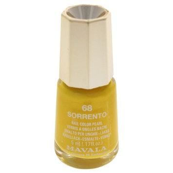 Mavala W-C-13937 Nail Lacquer No. 68 Sorrento Nail Polish for Women 0.17 oz