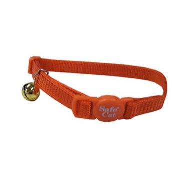 Coastal Pet Products Coastal Pet 07001 A SSO12 .38 x 12 in. Adjustable Breakaway Cat Collar Orange