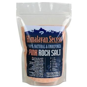 2 LB Himalayan Dark Pink Salt - 100% Natural & Unrefined by Himalayan Secrets - Coarse - Fine - Powder