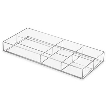 InterDesign Luci Divided Tray