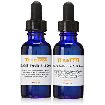 Timeless Skin Care 20 Percent Vitamin C Plus E Ferulic Acid Serum, 1 fl. oz. (Pack of 2)