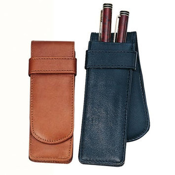 Personalized Royce Leather Double Pen Case