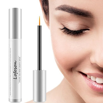 Eyelash Growth Serum, Lofoson Natural Lash Boost Enhancer & Eyebrow Growth Serum for Longer, Thicker Lashes and Brows, FDA Approved, Irritation-Free Formula, 5ML (0.17OZ)