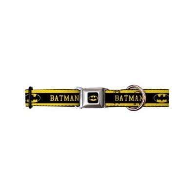 batman dc comics superhero name & shield seatbelt fun animal pet dog cat collar