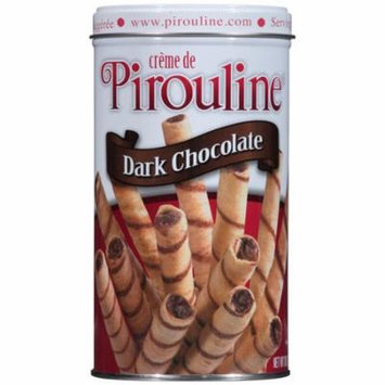 Creme de Pirouline Dark Chocolate Rolled Wafer Cookies, 10 oz