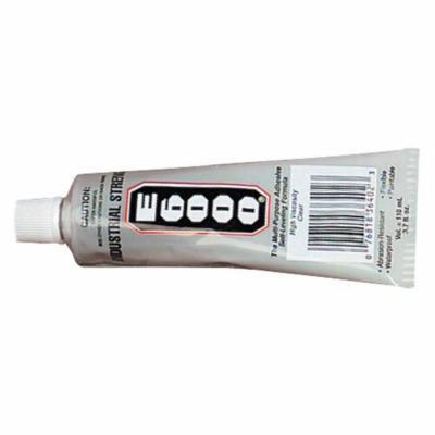 E6000 Flexible Multi-Purpose Adhesive Waterproof Glue, 3.7 oz Tube