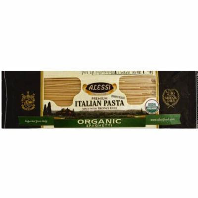 Alessi Organic Spaghetti Pasta, 16 oz, (Pack of 12)