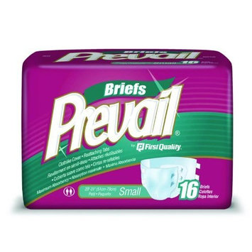 Prevail Incontinence Briefs, Small 16-Count [1]