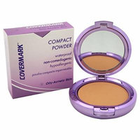 Covermark Women's # 4 Waterproof Compact Powder, Oily Acneic Skin, 0.35 Ounce