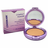 Covermark Women's # 3 Waterproof Compact Powder, Oily Acneic Skin, 0.35 Ounce