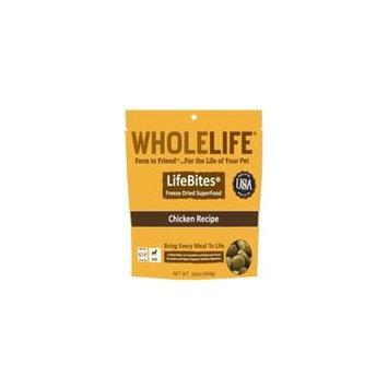 Whole Life LifeBites Chicken Recipe Freeze-Dried Dog Food, 16 Oz