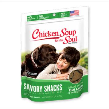 Chicken Soup for the Soul Savory Snacks Lamb Dog Treats 6 oz