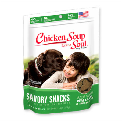 Chicken Soup for the Soul Savory Snacks Lamb Dog Treats 6 oz