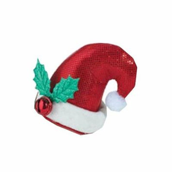 Christmas Mini Santa Hat Dress Accessory Hair Clip