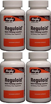 Watson Rugby Labs Reguloid, Bulk-Forming Laxative, 160 Capsules, Watson Rugby