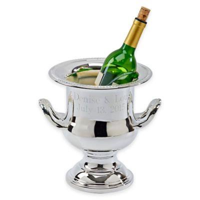 Gadroon Wine Cooler with Handles