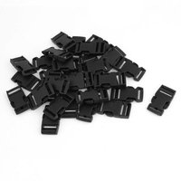 30PCS Black Replacement Side Release Buckle for Backpack Strap 2cm Wide