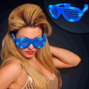 LED Hip Hop Sunglasses Blue