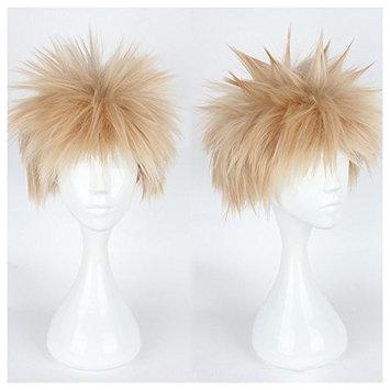 Kadiya Character Play Cosplay Wigs Spiky Boy Male Short Light Brown Anime Hair