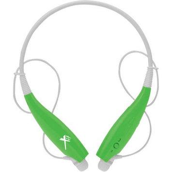 Xit Inc. Xit Axtbthsbgr Green Bluetooth Neck Headphones Flexible Sound