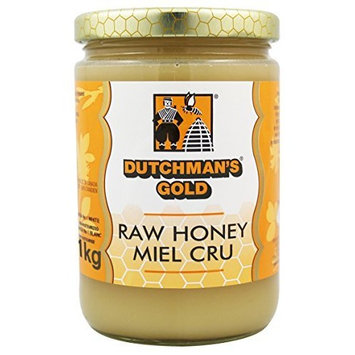 Dutchman's Gold Raw Honey - 2.2 lbs - Unfiltered - Non-pasteurized - Kosher