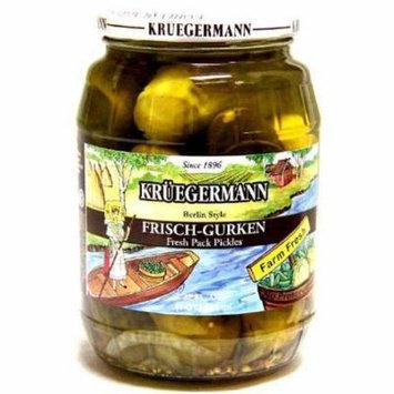 Kruegermann Frischgurken Berlin Style Pickles (32 floz)