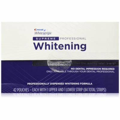 Crest Whitestrips Supreme Professional Whitening 84 Strips