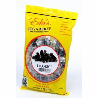 Edas Sugarfree Candies Edas Licorice, 6 oz