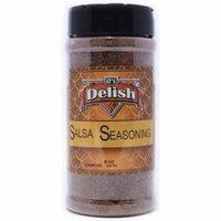 Salsa Seasoning by Its Delish, 8 Oz. Medium Jar