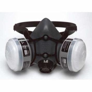 HONEYWELL NORTH Half Mask Respirator,Threaded,S 5501N95S