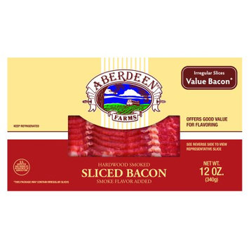 Smithfield Foods Aberdeen Bacon, Ready to Cook, 12 ounce package