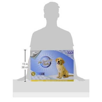 PREMIUM DOG TRAINING PADS - Most Absorbent - Latest IMPROVED Version - Best Puppy Pad - Superior Quality Doggie Pads [Large (23.5 x 23.5