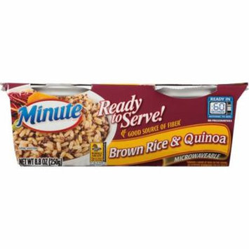 Minute Ready to Serve Brown Rice and Quinoa, 8.8-Ounce Serving