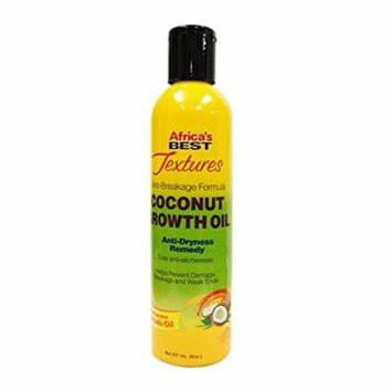 Africa's Best Textures Coconut Growth Oil Remedy 8 oz. (Pack of 2)