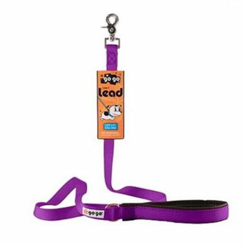 GoGo 15016 Small 0.63 In. X 4 Ft. Purple Comfy Nylon Leash