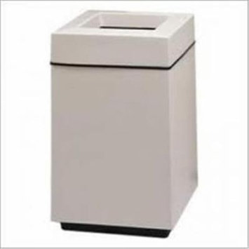 Witt Industries 7S-2136TSP Top Entry Trash Receptacle With Plastic Liner - 30 Gallon