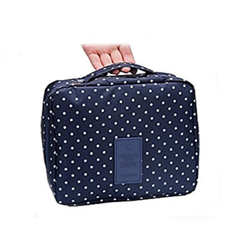 Ewandastore Waterproof Travel Kit Organizer Bathroom Storage Cosmetic Bag Carry Case Toiletry Kit Bag