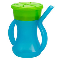 3 Evriholder 2-in-1 Sippy Snacky Cups Built-In Straw Handles BPA-Free, Ages 1+ BLUE/GREEN